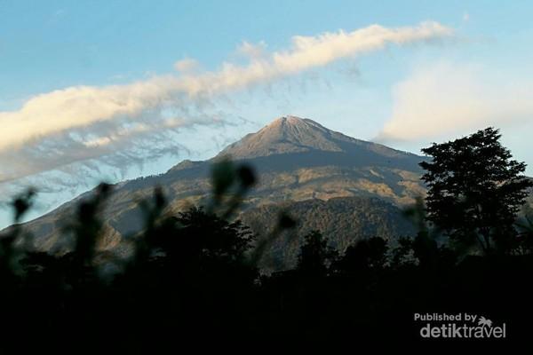 Potret Kemegahan Gunung Welirang dengan tinggi 3156 mdpl