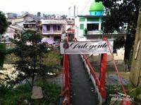 Jembatan Pemuda Desa Pulo Geulis Kota Bogor