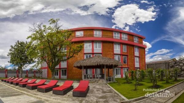 Halaman di Grand Baliem Hotel Wamena
