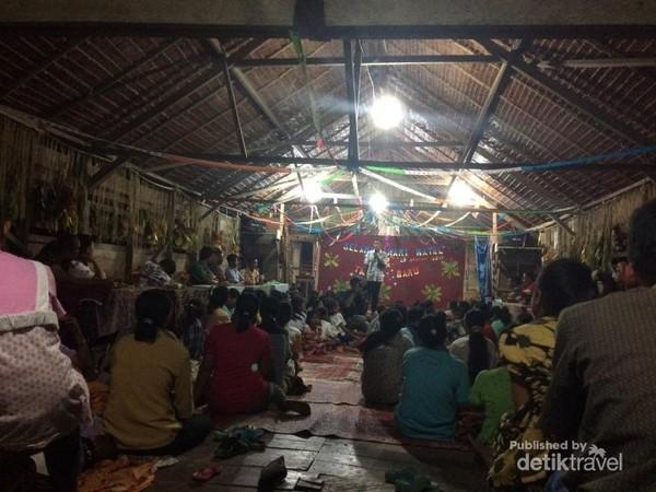 Perayaan Tahun Baru di Siberut