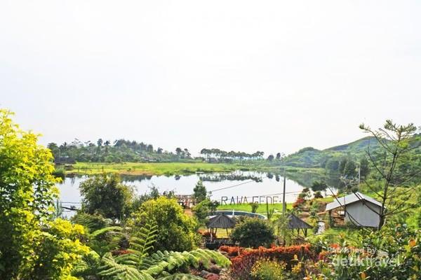 Suasana Situ Rawa Gede, Jonggol