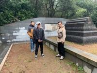 Dok pribadi perjalanan ke makam Cheng Ho