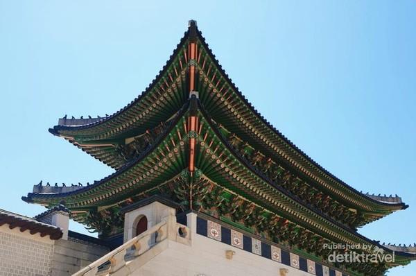 Salah satu menara yang menjadi incaran wisatawan untuk hasi foto yang instagramable.