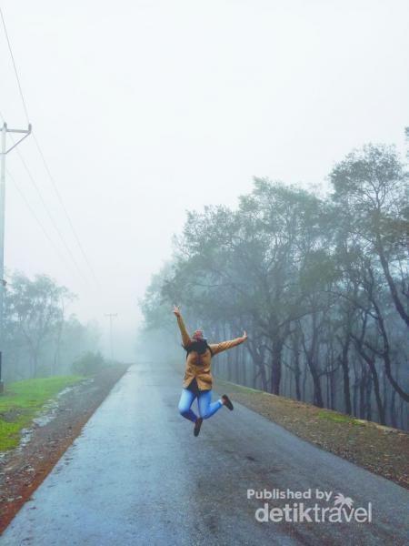 Musim hujan adalah waktu yang tepat untuk mengunjungi kabupaten ini