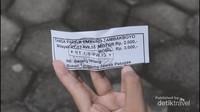 tiket parkir