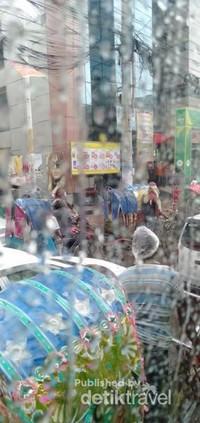 Ketika hujan sangat macet