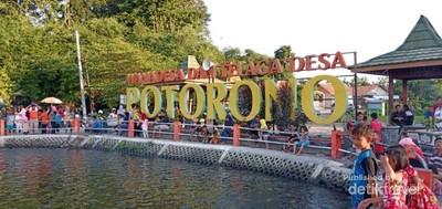 Embung Potorono, Wisata Alam untuk Keluarga di Yogyakarta