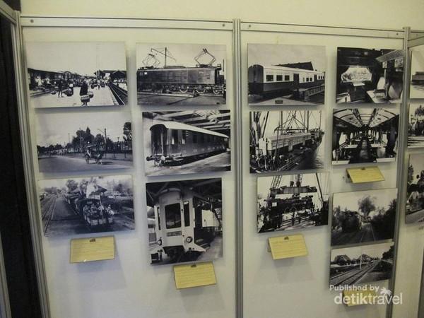 Foto kuno, mengenai kereta dan gerbong kuno yang pernah ada di Indonesia