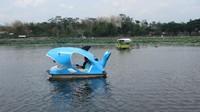 Untuk sepeda air sewa nya Rp. 20.000 untuk 20 menit