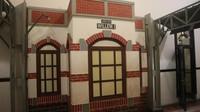 Replika stasiun Ambarawa yang bisa kita temukan di Lawang Sewu.