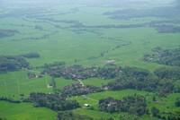 Dari bukit Panenjoan pengunjung bisa melihat pesona hijaunya taman bumi ini