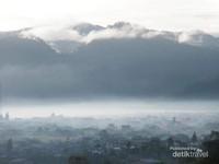Kota Takengon di Gayo yang panoramanya magis