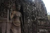 Ukiran Apsara yang jadi ciri khas Candi-candi di Kamboja