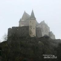 Mengulik Sejarah Kastil Vianden di Luxemburg
