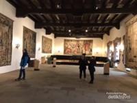 Ruang dansa yang ada di dalam kastil