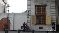 Di kawasan ini juga telah disiapkan properti bagi pengunjung yang ingin berfoto , contohnya sepeda ini.