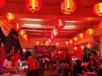 Spot favorit di Pekan Budaya Tionghoa, Yogyakarta adalah bazar makanan.