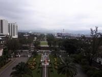 Monumen Perjuangan Rakyat Jawa Barat dilihat dari Gedung Sate