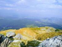 pemandangan dari puncak gunung bunium