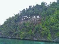 Puncak ini berada di geosite Dafalen