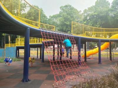Taman Puring yang Ramah Anak di Jaksel