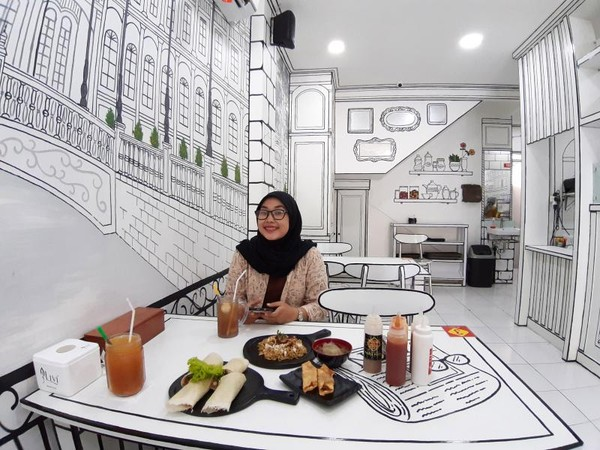 Cafe Popia Tiam di Jl. Mekarwangi No.95
