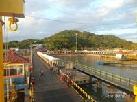 Pelabuhan Lembar di Lombok Barat