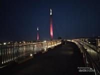 Pedestrian Jembatan Gentala Arasy.