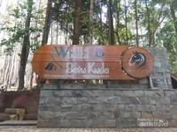 Wana Wisata Batu Kuda menjadi destinasi wisata alternatif di Bandung.