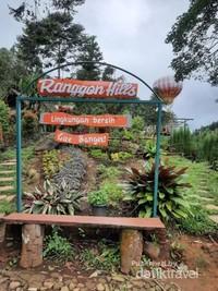 Ranggon hills wisata selfie diatas ketinggian gunung salak