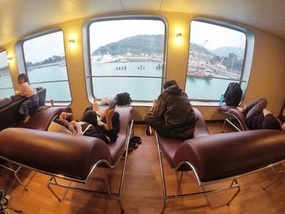 Menjajal Mewahnya Kapal Feri Eksekutif Merak-Bakauheni