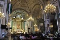 Gereja ini terletak di kawasan kota tua Intramuros.