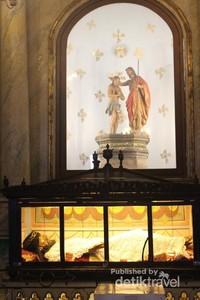 Gereja ini  selalu ramai dengan berbagai kegiatan maupun kunjungan turis .