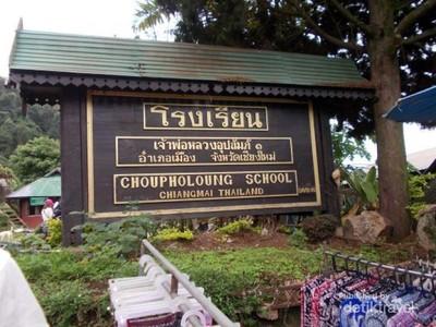 Potret Sekolah di Pedalaman Chiang Mai