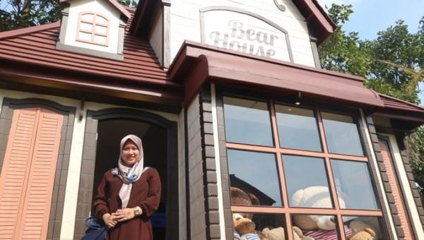 Bear House, salah satu wahana menarik di Kota Mini