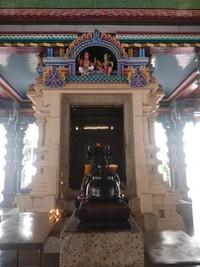 Salah satu tempat pemujaan dalam kuil.
