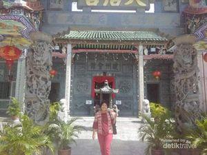 Foto: Kuil Eksotis yang Jarang Orang Tahu di Penang