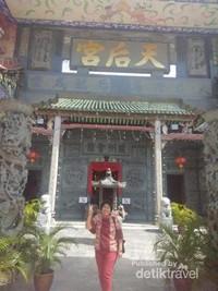 Kuil yang berpuluh tahun namun masih sangat terawat,  11 tahun berlalu namun Kuil seperti sama adanya.