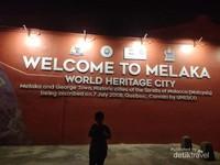 Melaka, kota warisan dunia.
