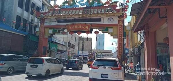 Gerbang Kampung Pecinan Kuala Terengganu.