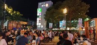 Open Air food court di Central Plaza Udon Thani