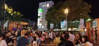 Open air foodcourt di Central Plaza Undon Thani