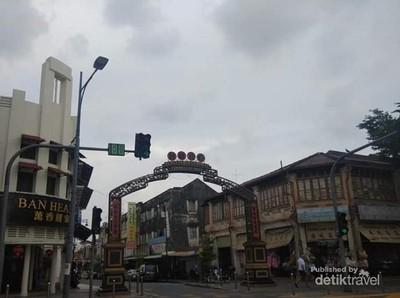 Mengenal Campbell Street di Kota Tua Penang Malaysia