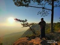 Nok Aen viewpoint untuk melihat sunrise