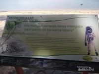 Penjelasan mengenai Pantai Pasir Hitam Langkawi