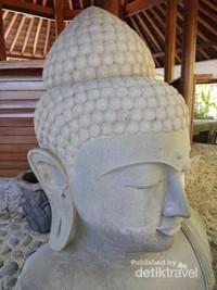 Foto Patung Budha di salah satu area Big Garden Corner.
