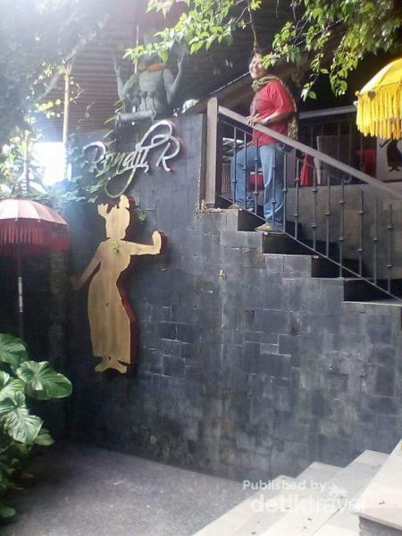 Ronji Restaurant yang ada di Muzium Antonio Blanco