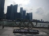 Olympic Walk di Singapura, Tahu?