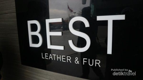 Best Leather and Fur merupakan destinasi wajib bagi rombongan turis di Istanbul