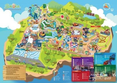 Serunya Berwisata di Taman Bermain Terbesar di Jawa Tengah